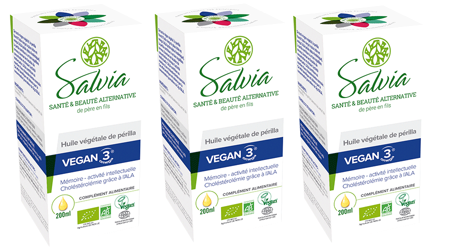 Pack of 3 vegan 3 perilla